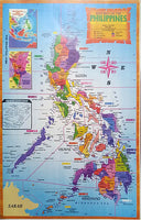 Map Of The Philippines with plastic