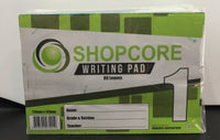SHOPCORE Writing Pad- 1 2 3  4