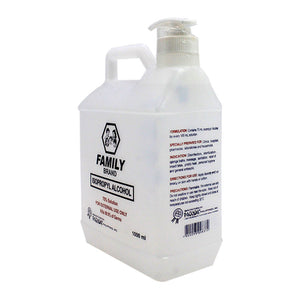 Family Isopropyl Alcohol 70% 1000ML