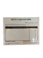 Glocarl Petty Cash Voucher Small 50s