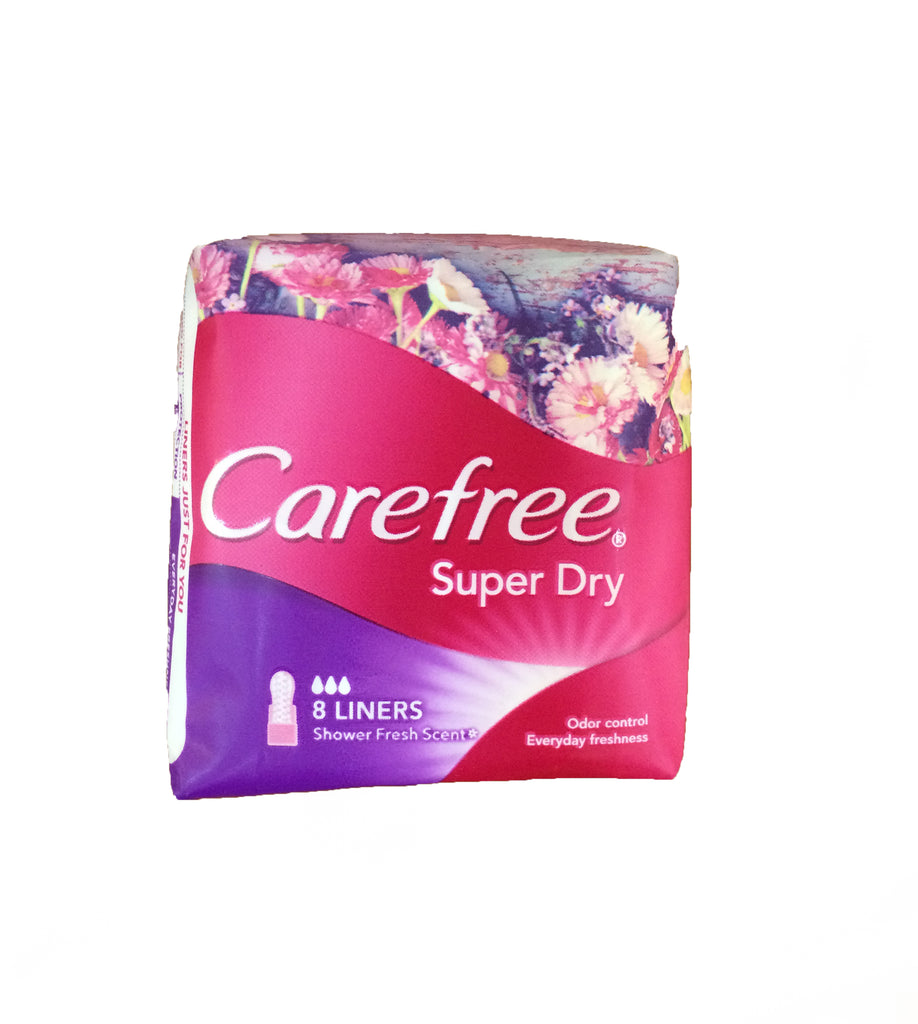 Care Free Super Dry x8 Pink