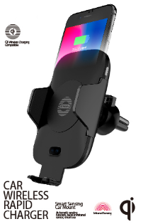 Air Vent Qi Wireless Car Charger & Holder