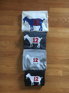 ADULT GOAT short sleeve shirt