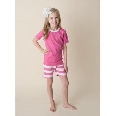 d04d02b660 Hot Pink Personalized Pajamas Loungewear – Preppy Personals