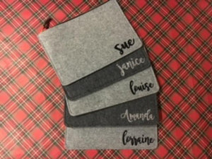 Flannel Clutches