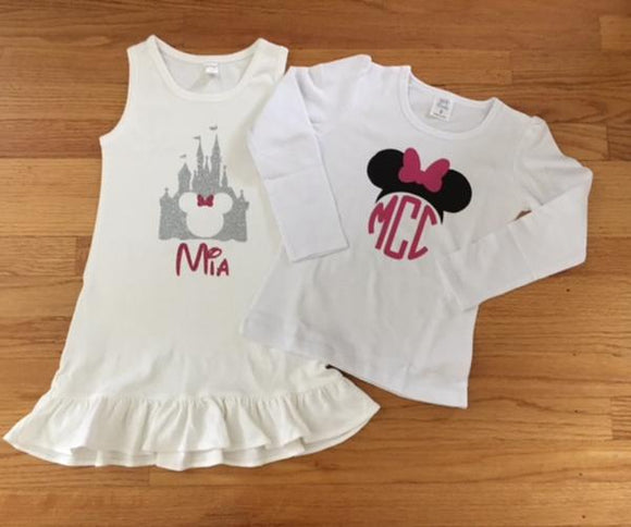 Personalized Disney Dresses