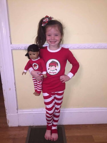 Kids Christmas Pajamas.Personalized Infant And Toddler Christmas Pajamas Loungewear