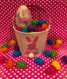 Personalized  Canvas Easter Baskets