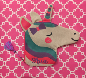 Personalized Unicorn Pencil Case / Purse