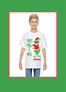 Personalized Grinch T-Shirts