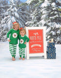 Personalized Youth Christmas Pajamas/Loungewear