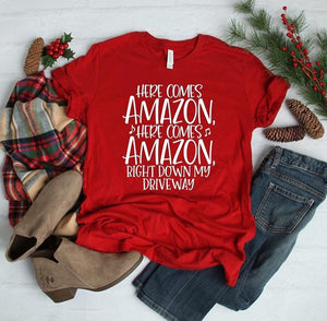 Here Comes Amazon Shirt