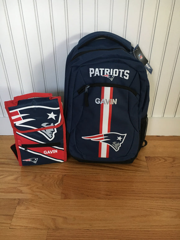 Patriots NFL Gear Lunch bag