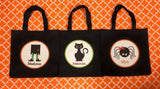 Halloween Trick or Treat Totes