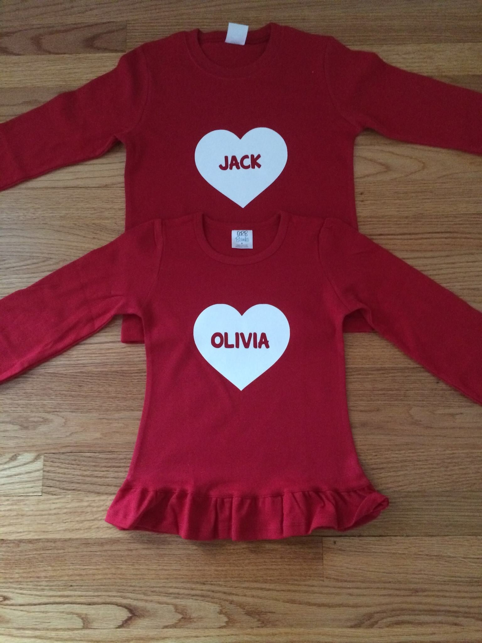 Personalized Valentines Day Shirt – Preppy Personals
