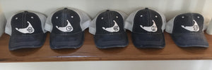 Nantucket Monogram Distressed Trucker Hat