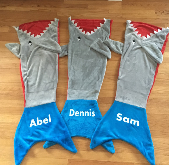 Personalized Shark Tails