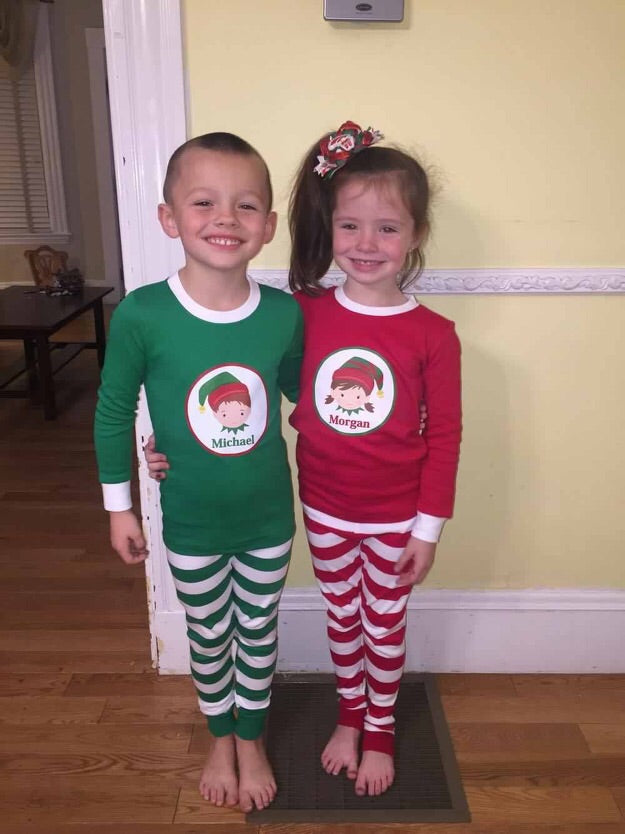 af91daf83b ... Personalized Infant and Toddler Christmas Pajamas Loungewear ...