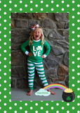 Personalized St. Patircks Day Pajamas/Loungewear