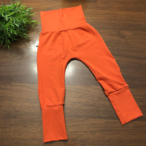AmBum - Pantalon sarouel unis - orange brulé