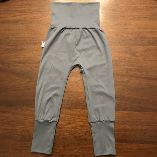 AmBum - Pantalon sarouel unis gris