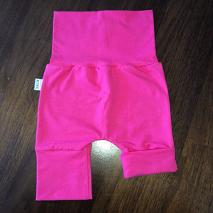 Short évolutive uni rose flash 6-36 mois