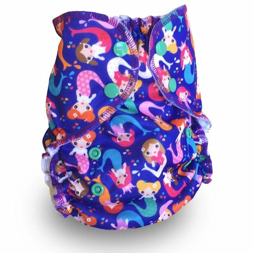 Amp Diapers - Couche taille unique - Mermaids