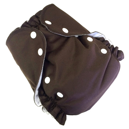 Amp Diapers - Couche taille unique - Chocolat