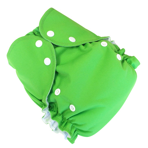 Amp Diapers - Couche taille unique - Vert grenouille