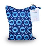 Amp Diapers - Petit Sac de transport - Whales