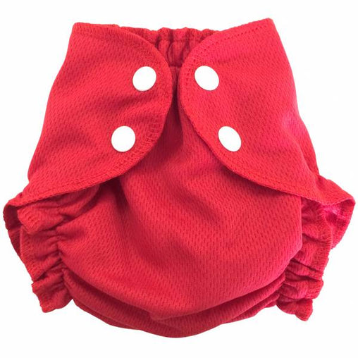 Amp Diapers - Couche de piscine - Red fish