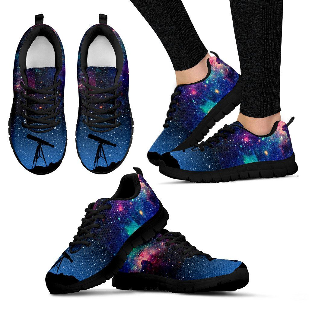 women galaxy shoes astronomy gift for space lovers