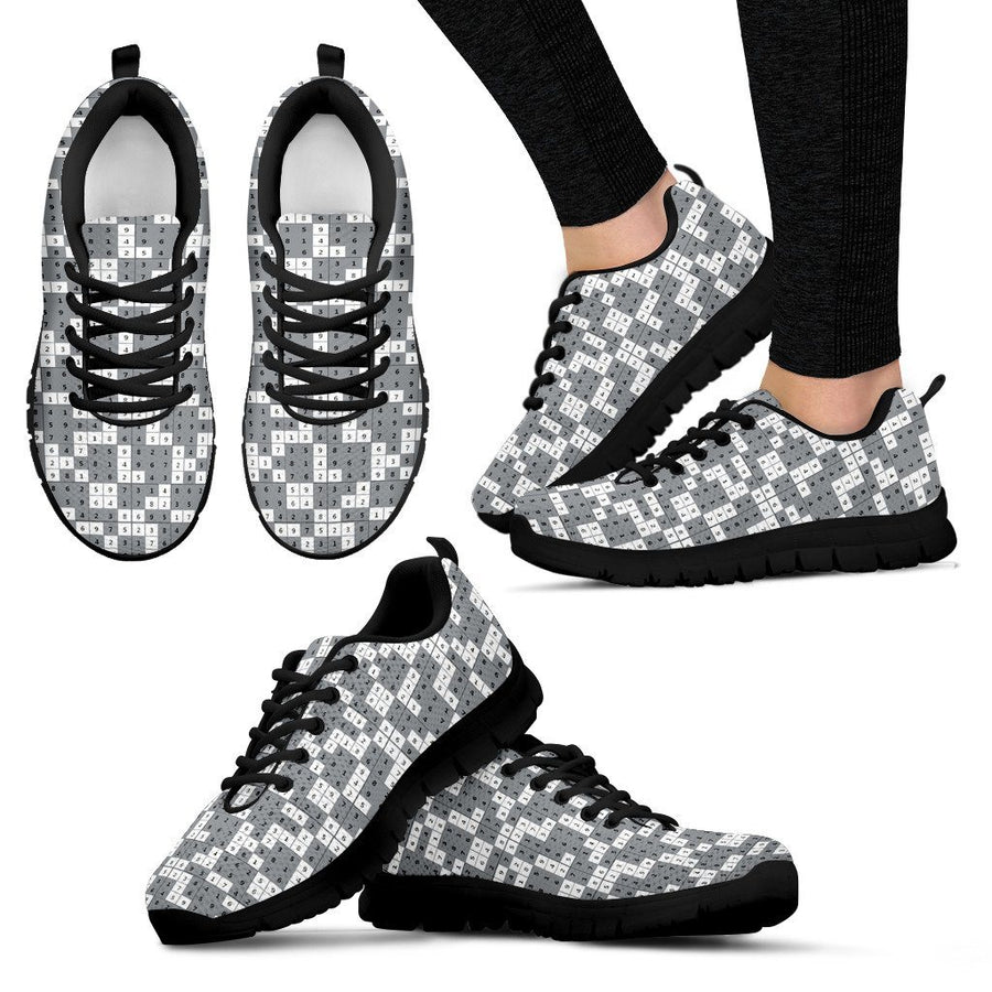 29481951087b Cow Print Sneakers-Cool Cow Shoes Gifts for Cow Lovers - ChiliPrints
