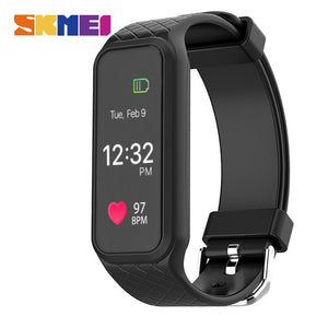 SKMEI L38I Colorful Screen Smart Watches Men Women Heart Rate Monitor Calorie Pedometer Sports Clocks Digital Wristwatch Relogio