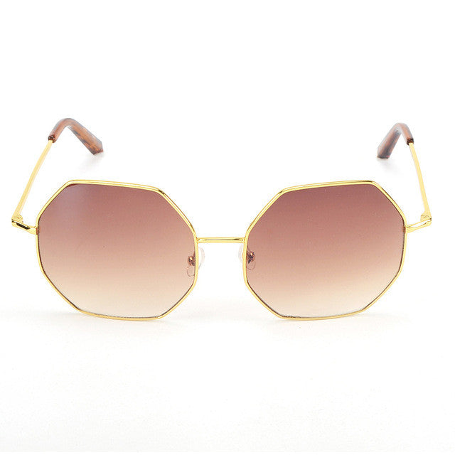 ROYAL GIRL Octagon Sunglasses Women Oversize Brand Designer Polygon Vintage Glasses Female Eyewear UV400 ss041