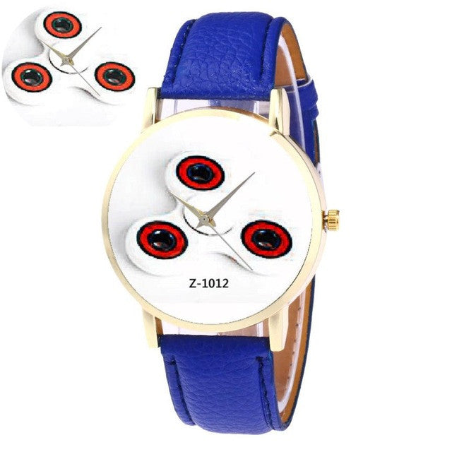 2017 Hot Sale Women Watch Retro Design Leather Band Analog Alloy Quartz Watch Gyro Patten Wrist Watch relogio feminino