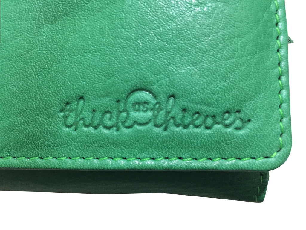 GREEN LADIES LEATHER WALLET