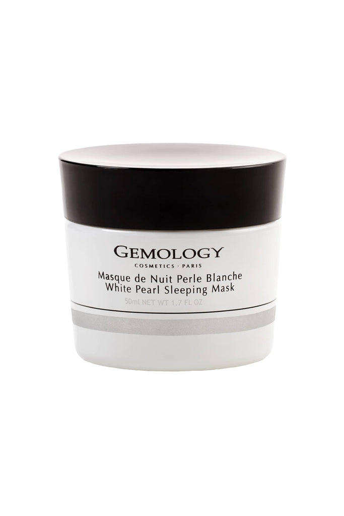 White Pearl Sleeping Mask - Masque de Nuit Perle Blanche