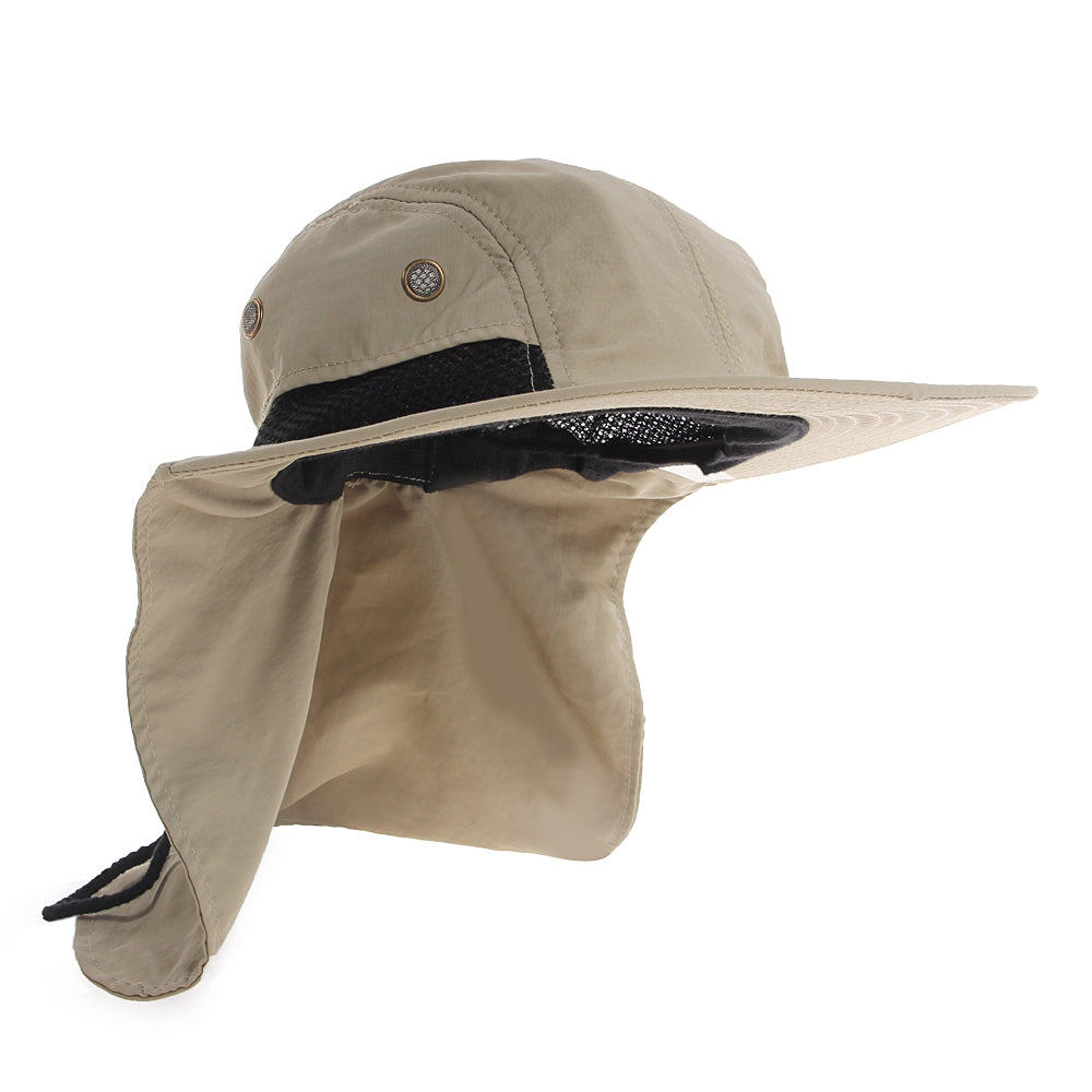 Sun Hats For Women   Men  Sun Hat With Neck Flap. – Freshwater Gear 2c7322d4c68f