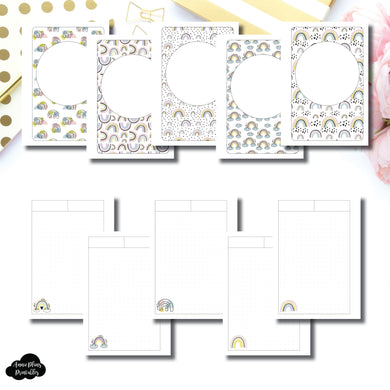 A6 TN Size | Happy Notes Printable Insert