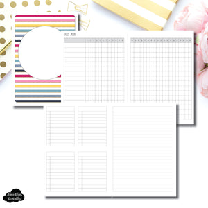B6 TN Size | JUL - DEC 2020 Tracker + Lists & Notes Printable Insert