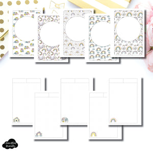 Letter Size Binder Ring Size | Happy Notes Printable Insert