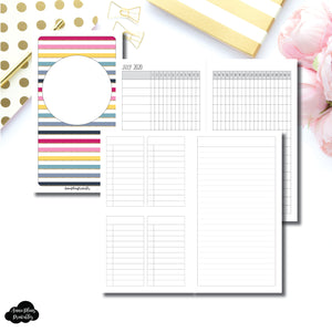 Personal TN Size | JUL - DEC 2020 Tracker + Lists & Notes Printable Insert