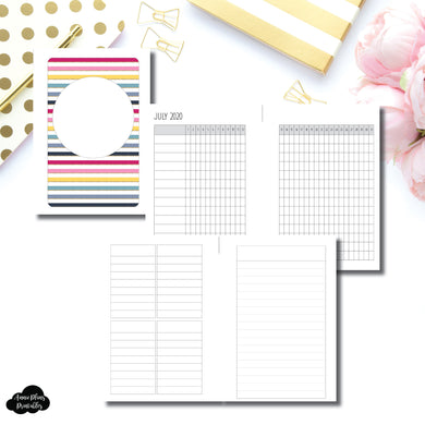 Pocket Plus Rings Size | JUL - DEC 2020 Tracker + Lists & Notes Printable Insert