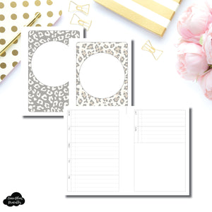 A6 TN Size | Weekly Task List Printable Insert