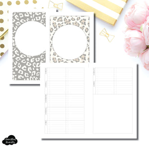 Cahier TN Size | Weekly Task List Printable Insert