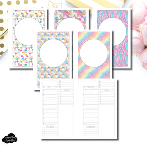 FC Rings Size | Undated Structured Timed Daily Printable Insert