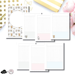 Personal Wide Rings Size |  Pretty and Prim Co Back to School Collaboration Printable Insert