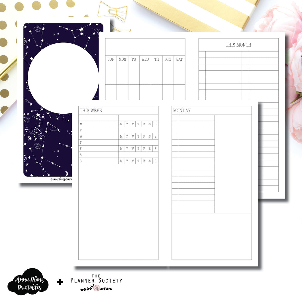 Personal TN Size | LIMITED EDITION: NOV TPS Undated Daily Collaboration Printable Insert ©