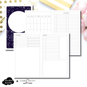 Cahier TN Size | LIMITED EDITION: NOV TPS Undated Daily Collaboration Printable Insert ©